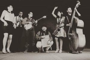 Calacas Jazz Band representantes del dixieland jazz